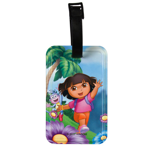 Dora and Boots (Dora the Explorer) Luggage Tag