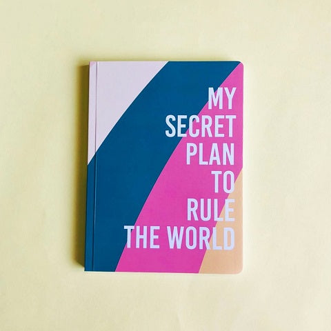 Secret Plans Notebook