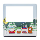 Winter Bus Stop (South Park) Magnetic Photoframe