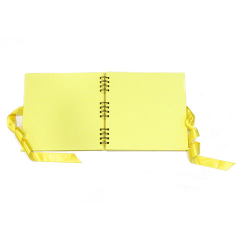 Our story Scrapbook Yellow