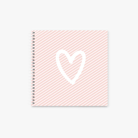 Is this Love square Spiral Notebook