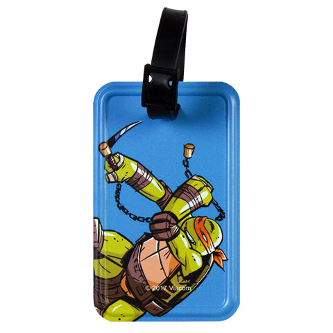 Blue Michaelangelo (TMNT) Luggage Tag