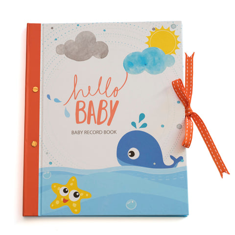 Hello Baby : First Year Record Book
