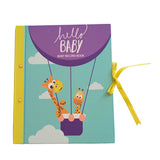 Hello Baby : First Year Record Book- Giraffe