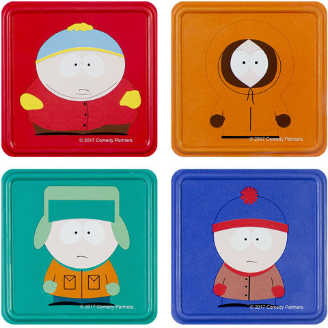 South Park Metal Coasters
