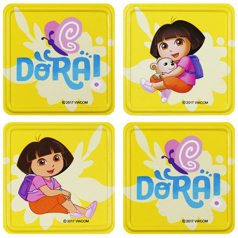 Dora the Explorer Metal Coasters