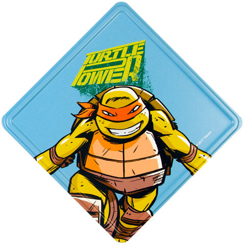 Turtle Power (Teenage Mutant Ninja Turtles) Metal Door Sign