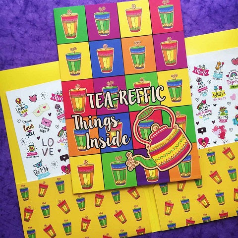 Tea-reffic File Folder