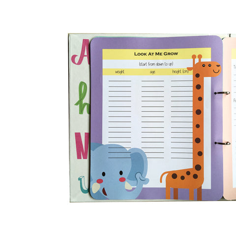 Baby's First Year Journal – Elephant