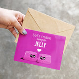 Jelly Greeting Card