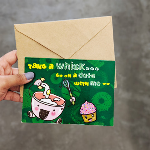 Whisk You Greeting Card