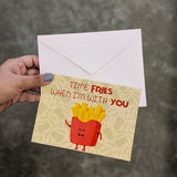 Fries Greeting Card