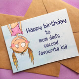Favourite Kid Greeting Card