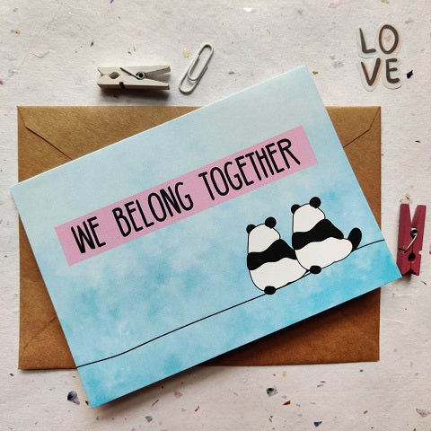 Belong Together Greeting Card