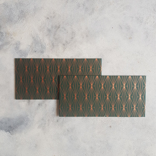 Green Geometric Money Envelope