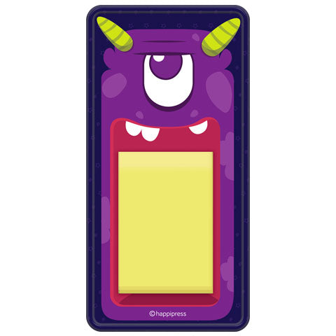 Monster Memo Pad