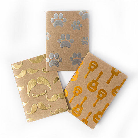 Kraft Foiled Notebooks