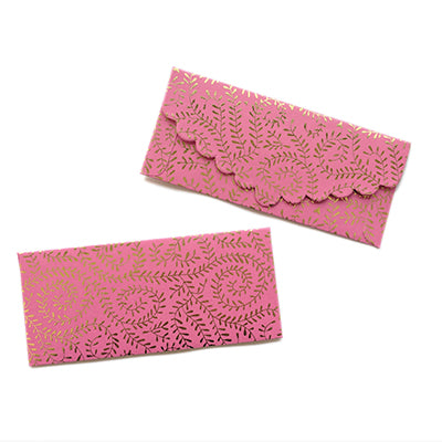 Pink Willows Money Envelope