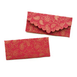 Paisley Paradise Red Money Envelope