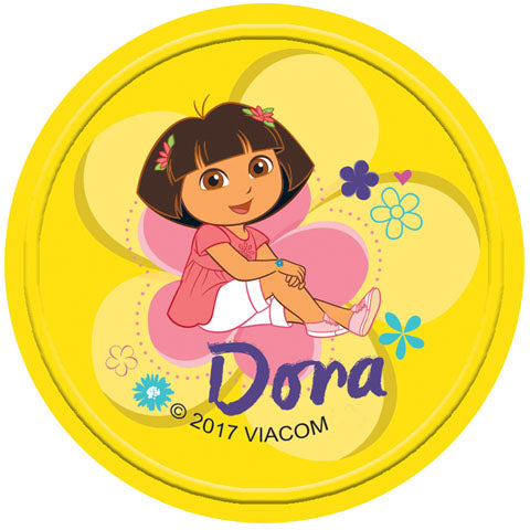 Yellow Dora the Explorer Badge