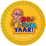 No Idea Yaar (Motu Patlu) Badge