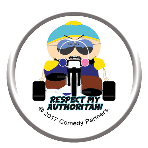 Bike - Curious (South Park) Badge