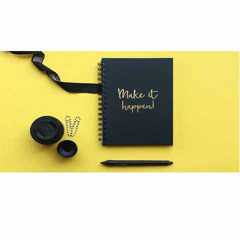 Make it Happen notebook