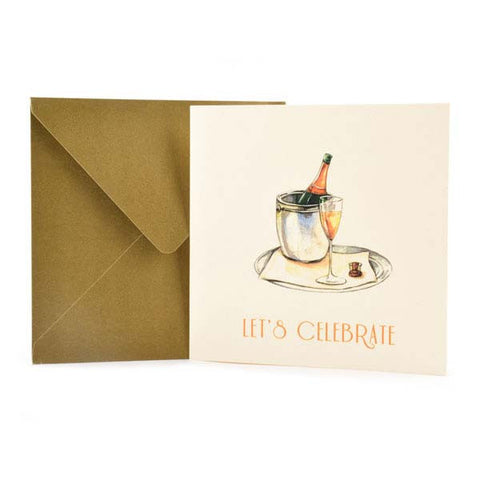 Celebretory Cheer Greeting Card