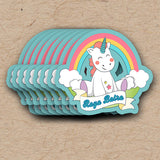 Unicorn & Rainbow Gift Tag