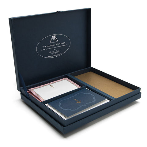 All Hands On Deck  Stationery Set - The Nautical Explorer