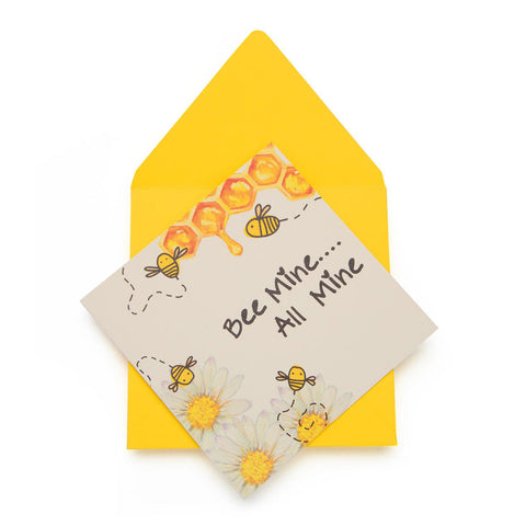 Bee Mine Greeting Card