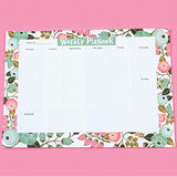 Blossomy Weekly Planner