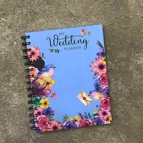 Bird Cage Wedding Planner- Blue
