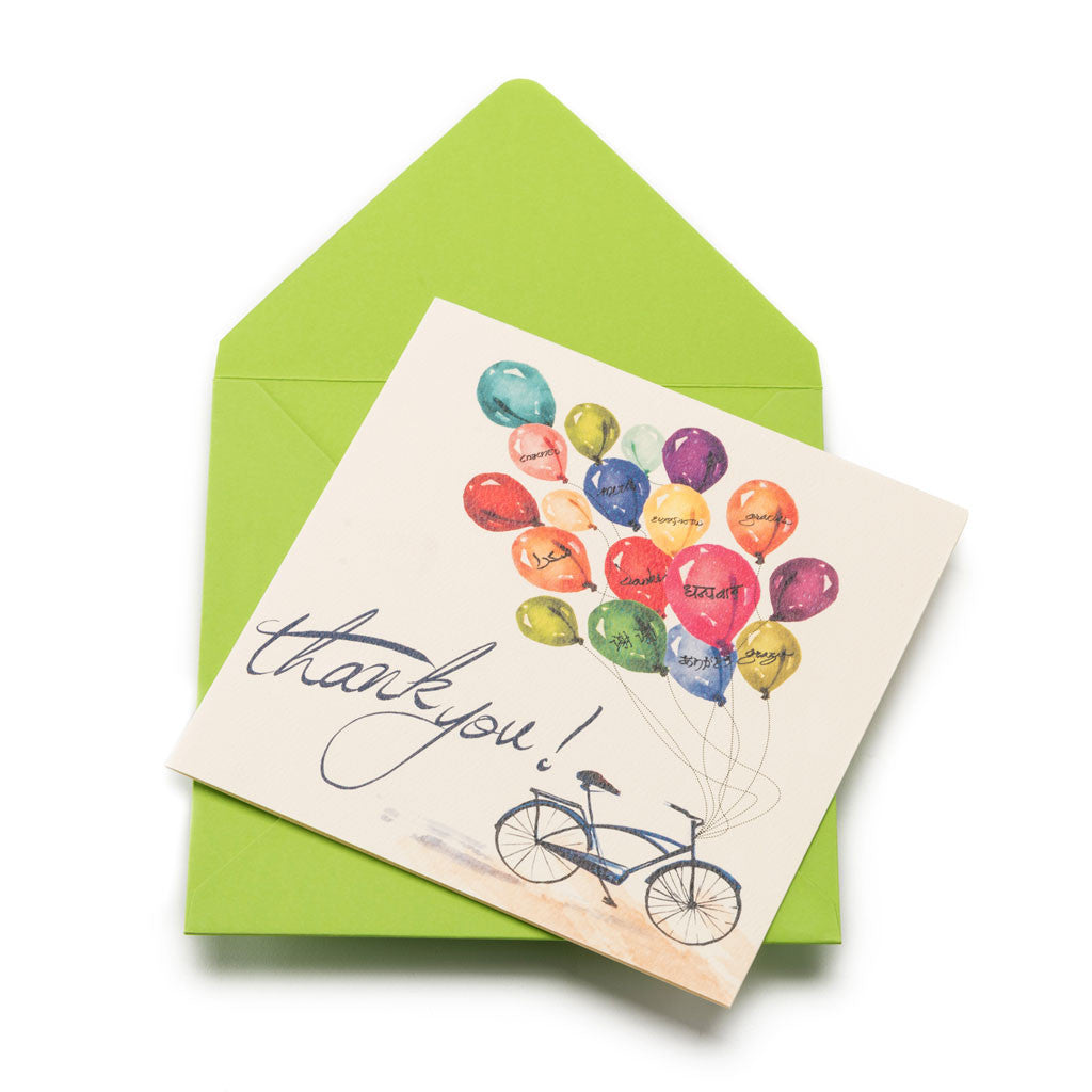 Bundle of Thanks Greeting Card