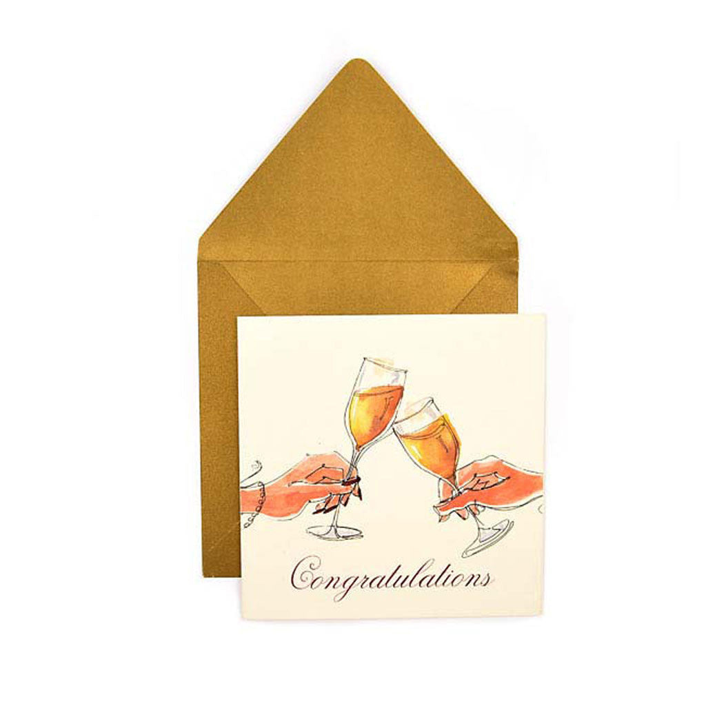 Clink! Greeting Card