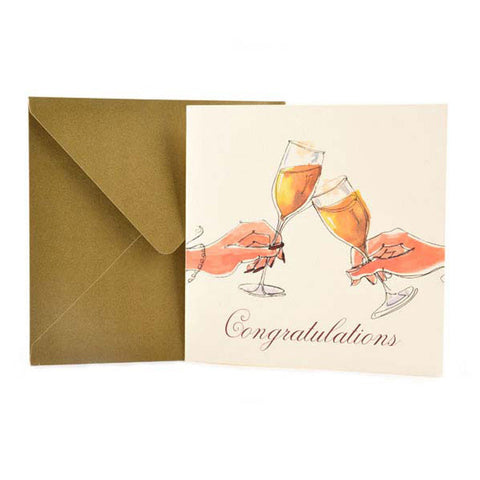 Clink: Celebrate an occasion with your loved ones & toast their happiness with our personalised Congratulation greeting cards online.