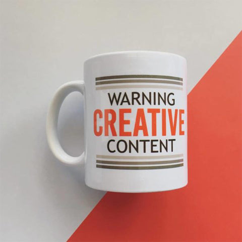Warning-Creative Content Mug