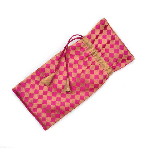 Gold & Pink Bottle bag - Festive Fervour