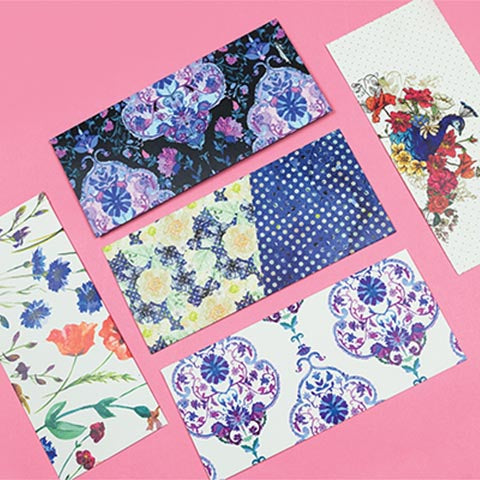 Floral Assorted Money Envelopes