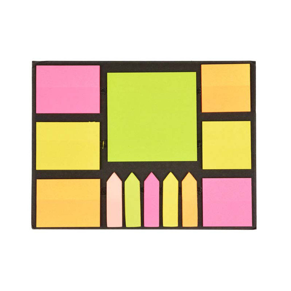 Fluorescent Reminders Sticky Notes