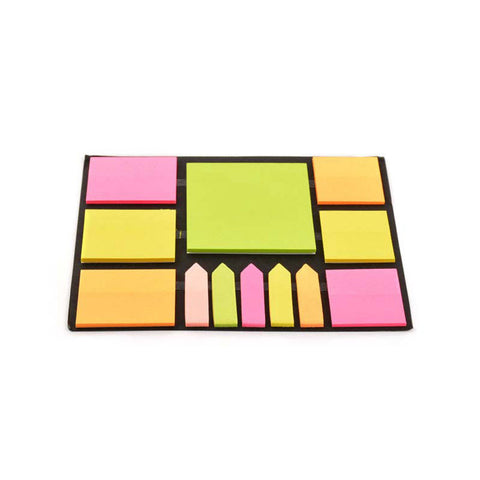 Fluorescent Reminders Sticky Notes - Multi-Colour Sticky Notes