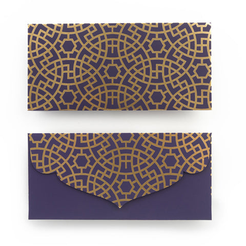 Buy Moroccan inspired money envelopes online from The Papier Project