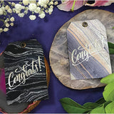 Hand Marbled Gift Tags