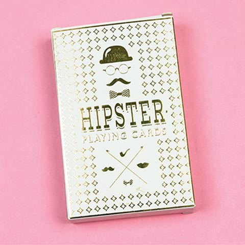 Hipster Deck of Cards