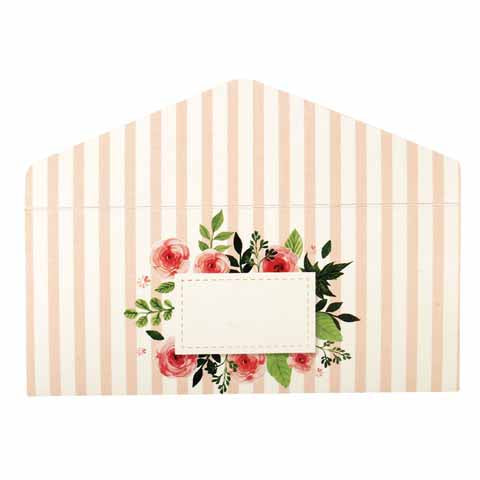 Floral Money Envelopes Pink