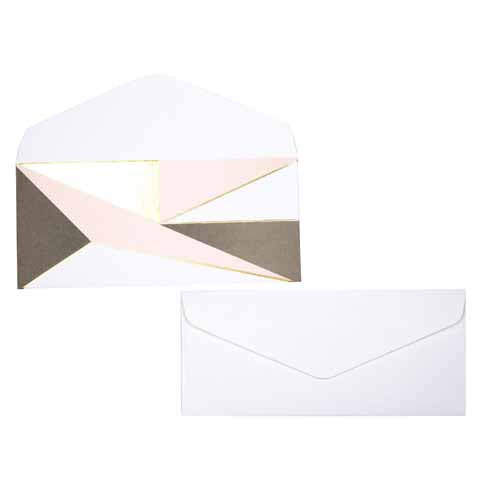 Asymmetrical Money envelopes