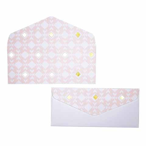 Gilded Diamond Money envelopes