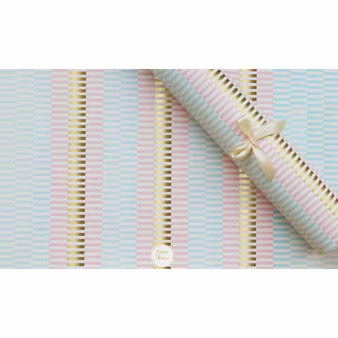 Pastel gold wrapping paper