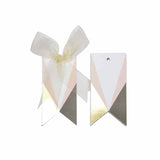 Asymmetrical pink Gift tags