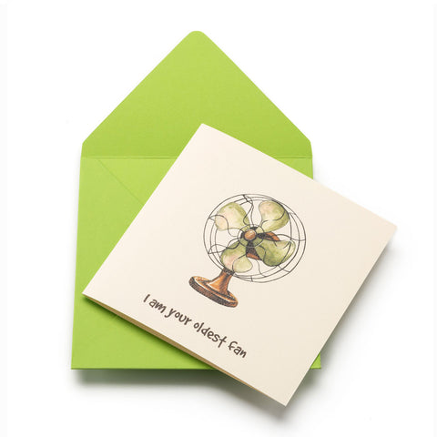 Oldest Fan Greeting Card